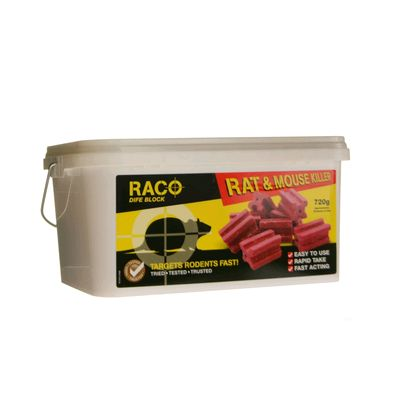 Rat and Mouse Killer Poison Blocks x 36 (Amateur Use) » £5.49 - DIY Pest Control Products